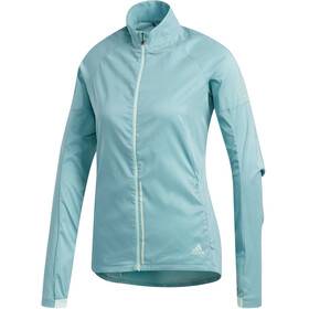 adidas Supernova Confident Three Season Jacket Women Clear Mint/Colored Heather